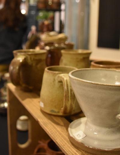 November 2017 St. Cloud Art Crawl photos pottery