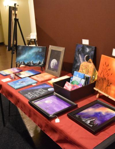 November 2017 St. Cloud Art Crawl photos paintings for sale