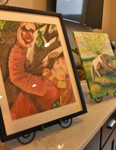 March 2018 Art Crawl photos painting